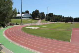 Leichtathletik Trainingslager im Sportzentrum in Barcelona (Spanien)