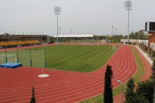 Leichtathletik Trainingslager im Gloria-Sports-Arena in Belek (Tuerkei)