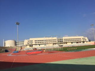 Leichtathletik Trainingslager im Sport Center in Nikosia (Zypern)